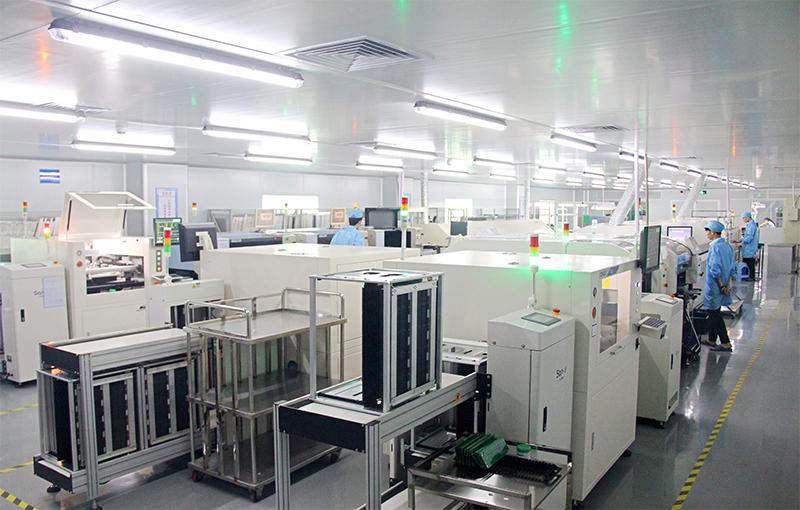 高拍仪厂家生产设备